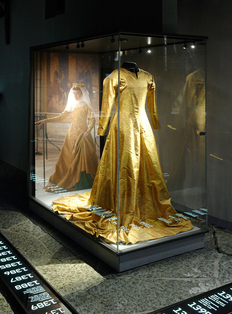 Copy of Queen Margaret's gown.