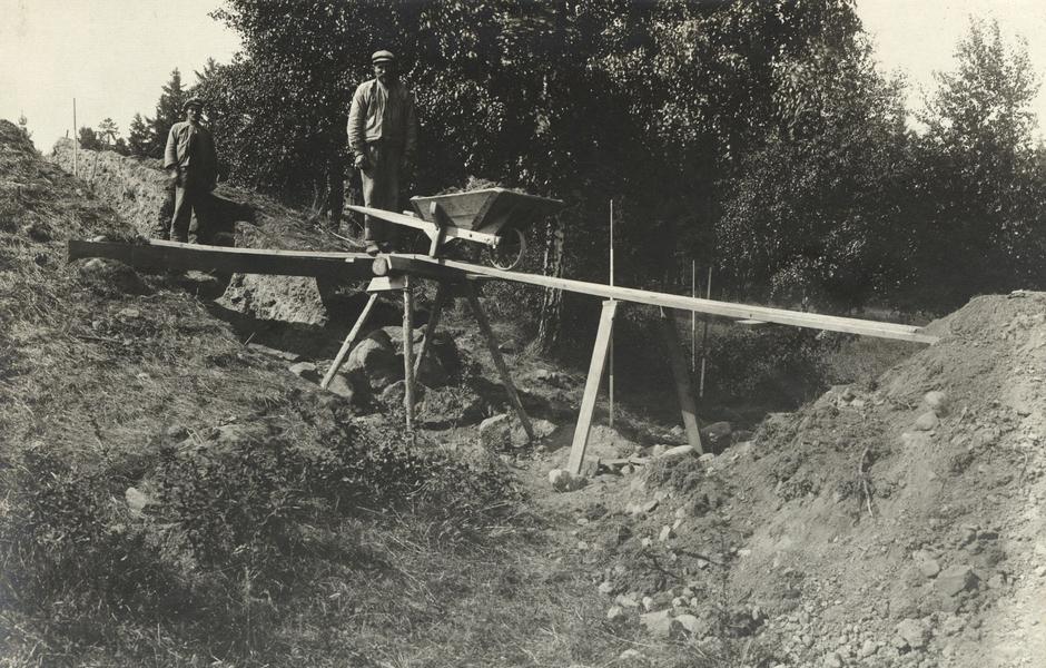 Bild från utgrävningen av Skopintull. Foto: Hanna Rydh/ATA