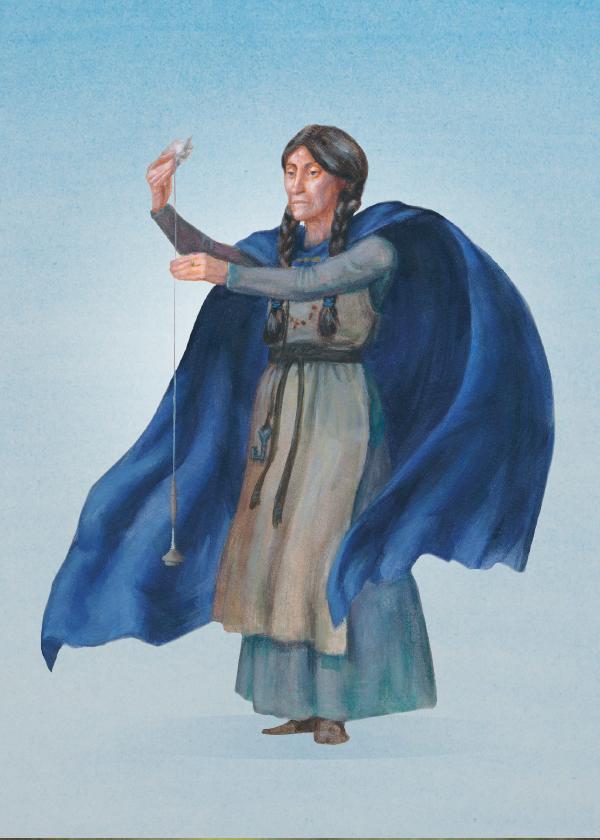 Frigg är Asgårds härskarinna och de kvinnliga gudarnas drottning. Hon är gift med Oden.
