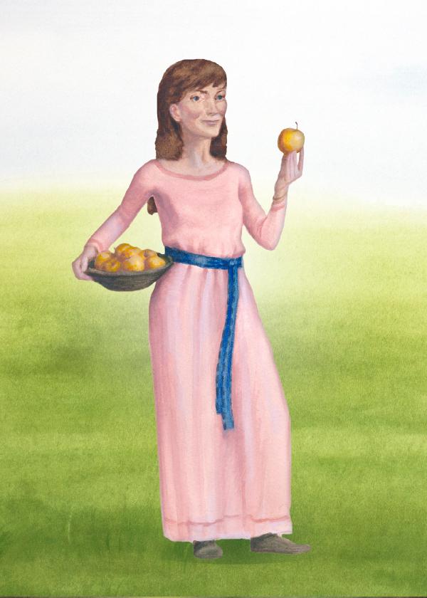 """Idun är gudinnan för ungdom – hennes namn betyder """"den som föryngrar""""."""